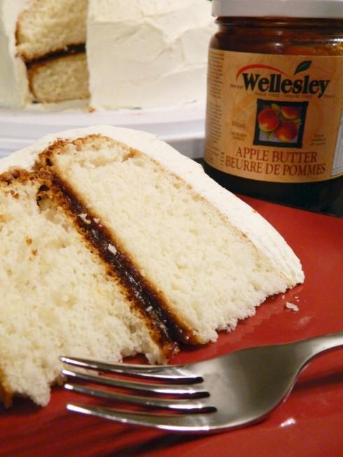 Vanilla Apple Spice Cake | baconavecbacon.com