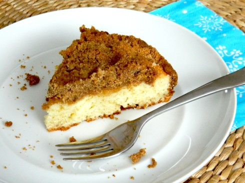 Sour Cream Coffee Cake | baconavecbacon.com